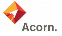 Acorn a voltage optimisation case study (This is their logo).